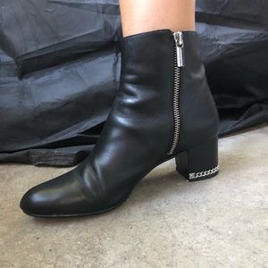 Michael Kors Boots with Silver Detail